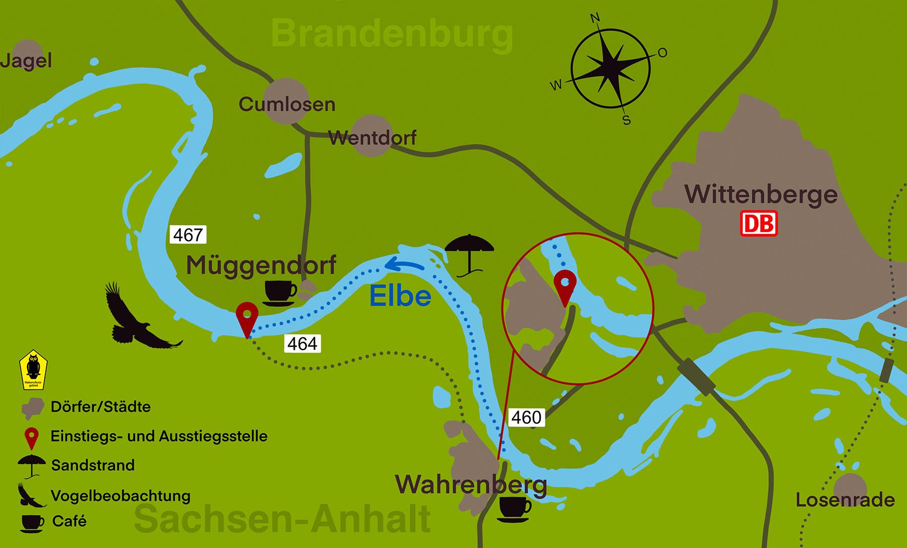 Kanustation Elbtalaue TOUR 2