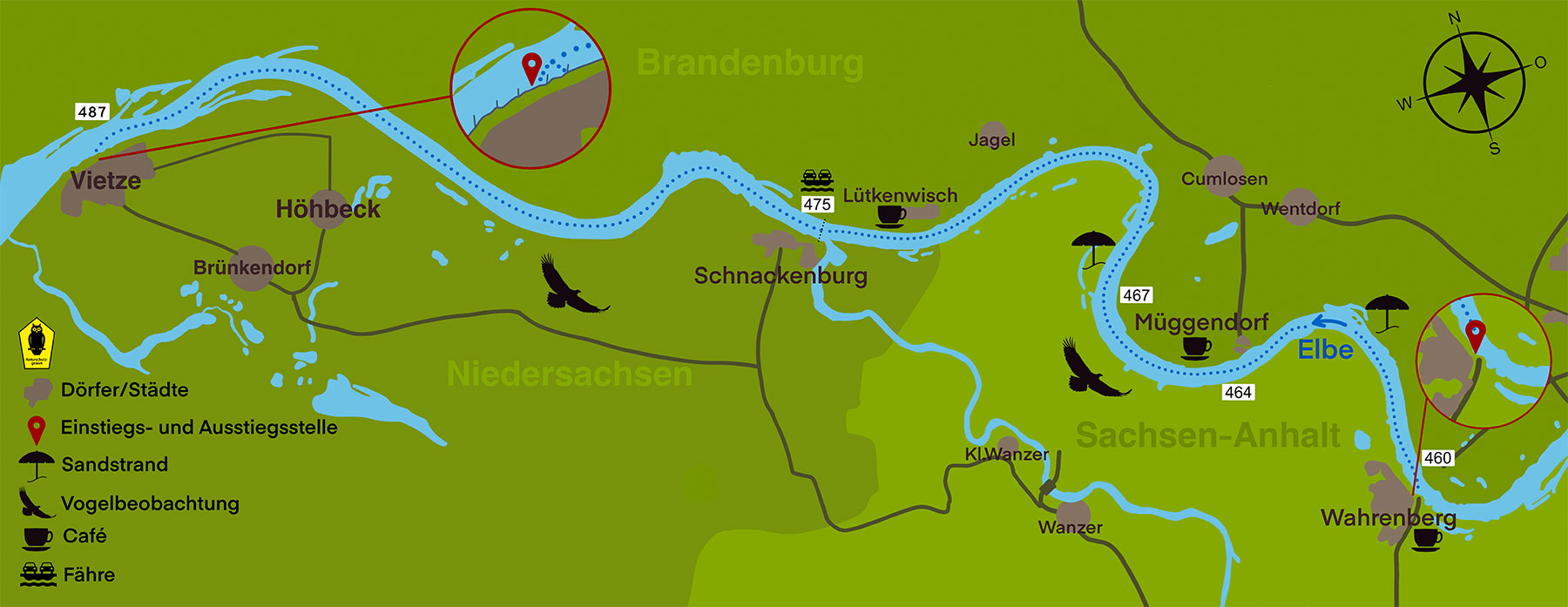 Kanustation Elbtalaue TOUR 3