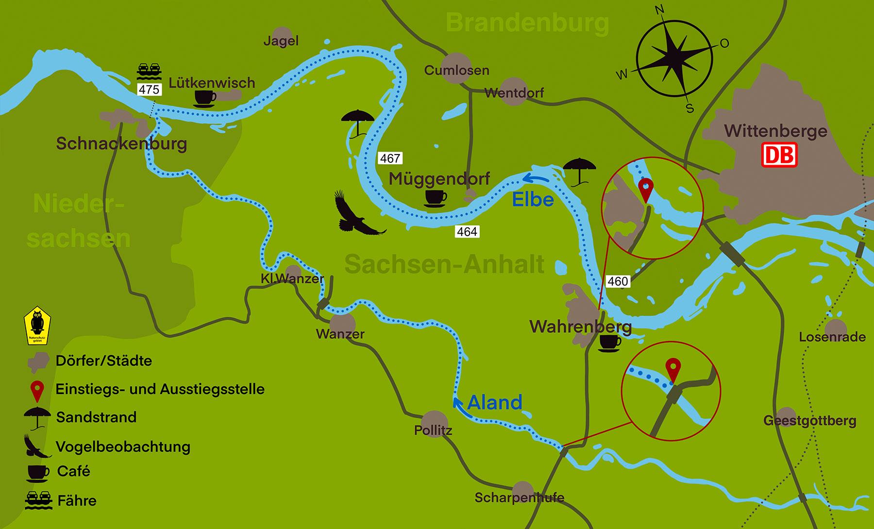 Kanustation Elbtalaue TOUR 4